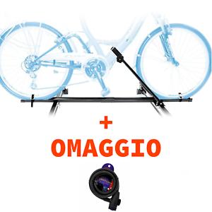 Portabici da Tetto per Auto Biciclette Bicicletta Singola Bici Bike UNIVERSALE ✅
