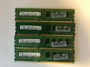 Samsung-8GB-4x2GB-PC3-10600U-2Rx8-DDR3-Desktop-Memory