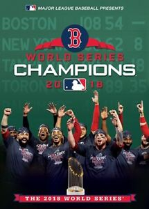 BOSTON RED SOX 2018 WORLD SERIES CHAMPIONS New Sealed DVD