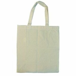 77576bd7afc Green Earth Bags 3 Pack Natural Cotton Canvas Grocery Totes