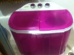 10lb KUPPET Parts SPIN DRY WORKS Portable Wash Doesn't Work Twin Tub Purple Pink