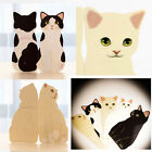 Cute 3D Standing Cat Decorative Greeting Card Birthday Party Valentines Decor