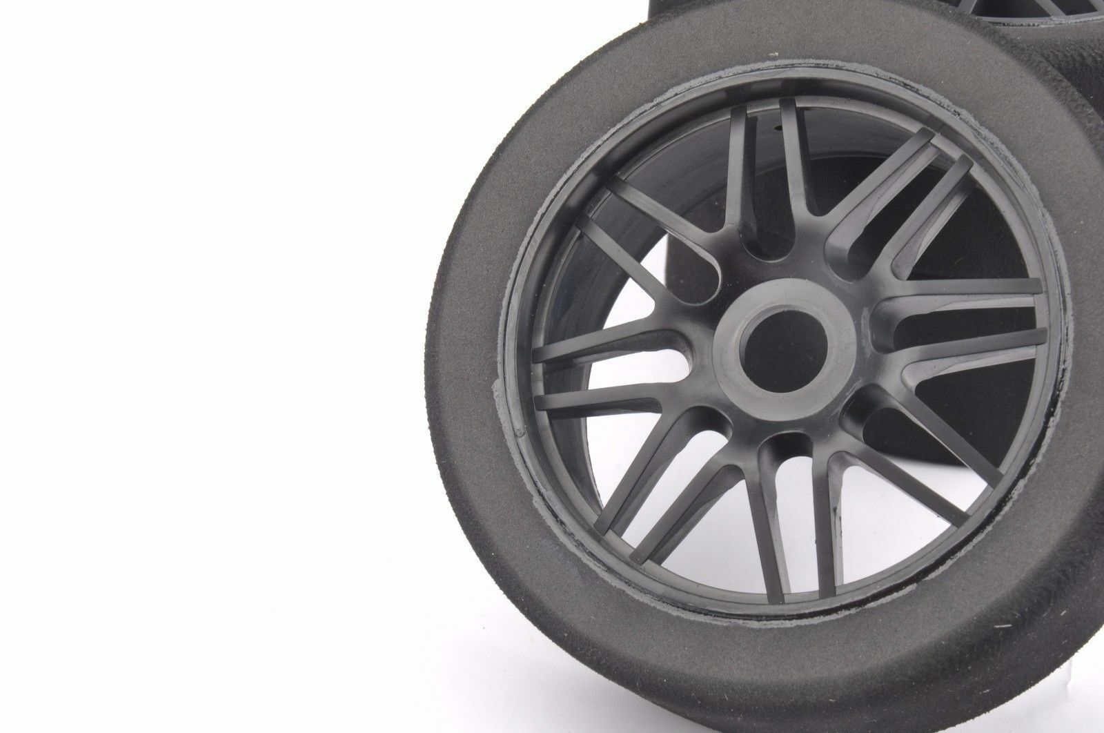 4Pcs 1 8 Foam Tires & Nylon Nylon Nylon Wheel 17mm Hex For GT X0-1 RC On Road Racing Car fdced3
