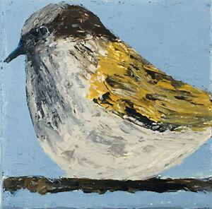 Wren-Bird-Outsider-Folk-Art-Brut-Palette-Knife-Painting-Katie-Jeanne-Wood