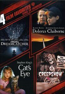 Stephen-King-4-Film-Favorites-2-Discs-2009-DVD-NEW