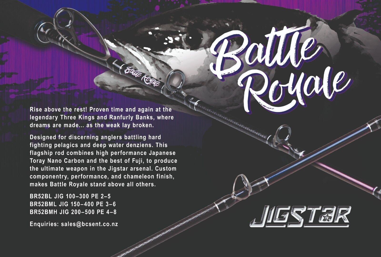 Jigstar Battle Royale Jigging Rod 5ft2  (3 Ratings Available) World Class Rods