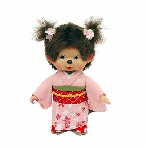 Monchhichi Doll Girl Sakura Japan
