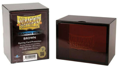 ATM20011 Dragon Shield Gaming Box Brown