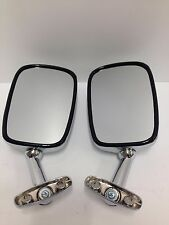 Mirrors chrome fairing rectangular replacement Honda GL1100 GL500 Silverwing