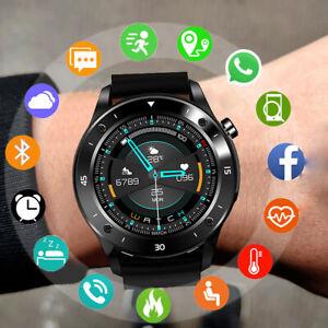 Bluetooth Smart watch Fitness Tracker Sport Uhr Puls Armband Wasserdicht