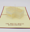 New Greeting Card 3D PopUp White House Birthday Anniversary Any Occasion 42