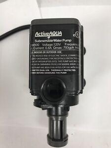 Hydrofarm Active Aqua Submersible Water Pump, 800 GPH