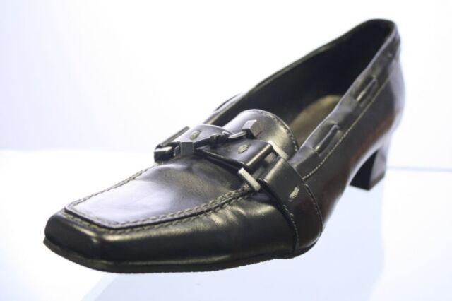Barbarella Pumps schwarz Leder Gr. 37 (UK 4)