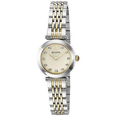 Bulova 98P154 Diamond Accents Women's Watch