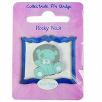 Me To You Blue Nose Friends Collectors Pin Badge - Rocky The Lion