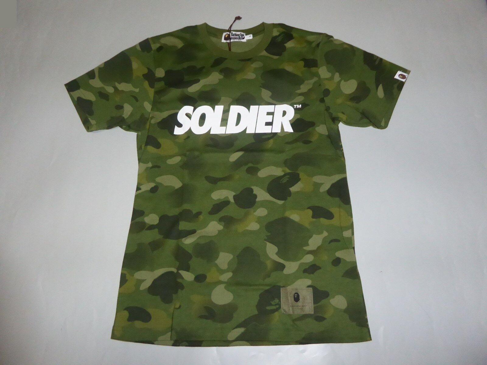 1ae4b5d298b72 17066 gradation camo olive tee XXL bape bape npumag2538-T-Shirts ...