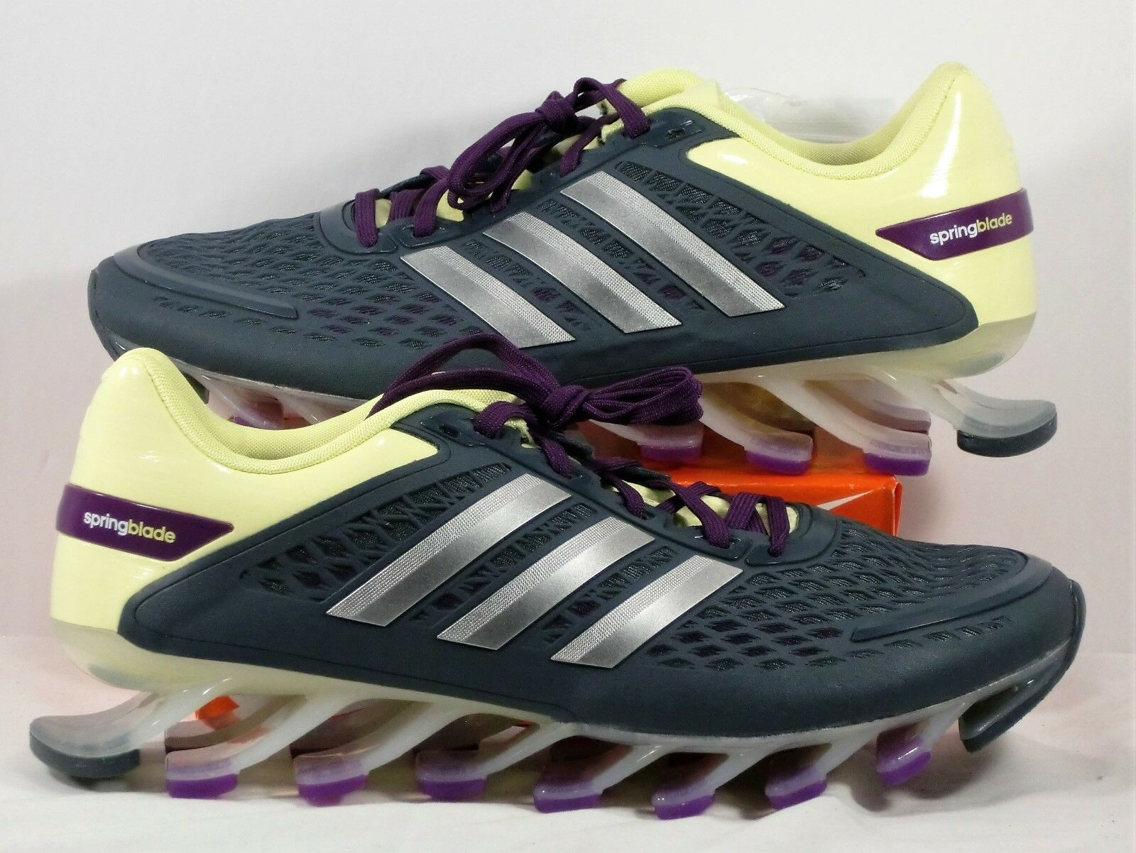 Adidas Springblade Razor Glow & Metallic Silver Running shoes Sz 6 NEW G97688