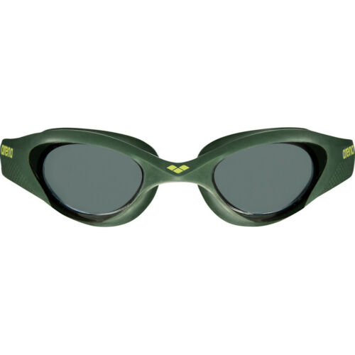 arena The One Goggles smoke-deep green-black  2019 Schwimmbrille grün