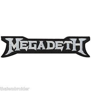 megadeth logo sew embroidered iron on patches jacket shirt cap vest rh ebay ie megadeth logo t shirt megadeth logo vector