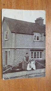 Postcard-Glastonbury-Street-Area-Mother-amp-Children-Unposted