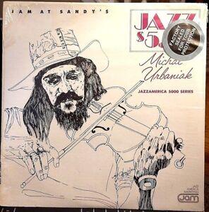 Sealed-GENE-BERTONCINI-amp-MICHAL-URBANIAK-TRIO-LP-034-Jam-at-Sandy-039-s-034-JAM-1981