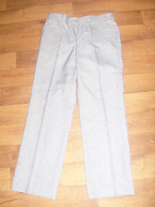 Mens-smart-grey-fleck-trousers-34-034-waist-regular-leg-NEW-NC38
