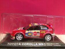 SUPERBE TOYOTA COROLA WRC RALLY MONZA 2004 NEUF SOUS BLISTER 1/43