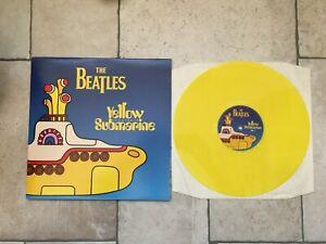 The-Beatles-Yellow-Submarine-Soundtrack-LP-gatefold-YELLOW-1999-Apple-near-mint