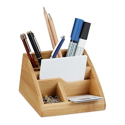 Multifunktion Mesh Schreibtisch Organizer Stifthalter Ablagefächer Büro/_Schwarz