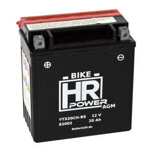 HR Bike Power 12V 20Ah AGM Motorradbatterie YTX20CH-BS 82002 51822