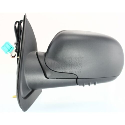 Heated 02-09 Chevrolet Trailblazer Driver Side Mirror Replacement Power Fol