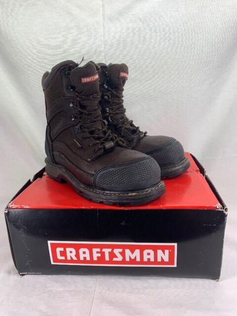 Craftsman Kryptor Men/'s Steel Toe Work Boot Waterproof Oil Slip Resistant...