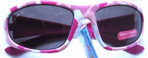 Kinder Brille Mädchen  Sonnenbrille Dudes /& Dudettes 100/% UV Protection pink