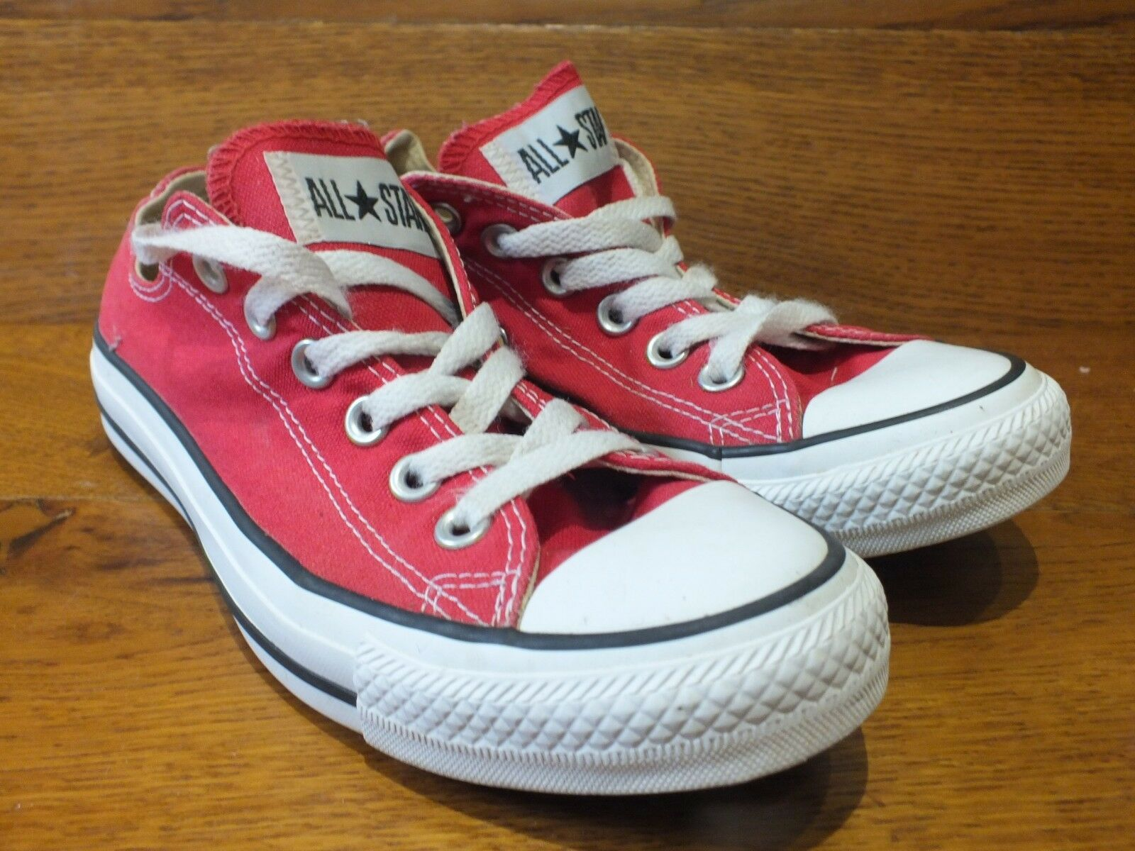 Converse CT All Star UK 5  EU 37.5 Red Canvas Casual Trainers