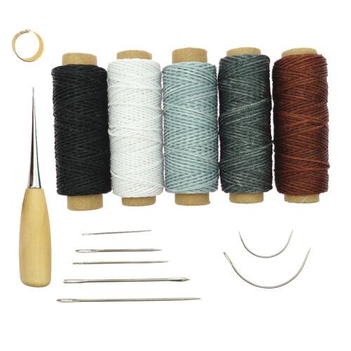 satz diy leathercraft kit nähen ahle nähen werkzeuge für leder 14 teile
