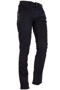 Street One Jane Zip Stretch Jeans Casual Fit Slim Leg Medium Waist Women's Black