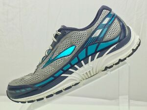7f0f0b30d6f BROOKS Dyad 8 Running Sneakers - Training Grey Blue Athletic Shoes ...