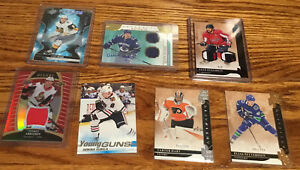 Hockey-Card-Mystery-Pack-2-Young-Guns-1Jersey-Auto-2-Numbered-Cards-And-More