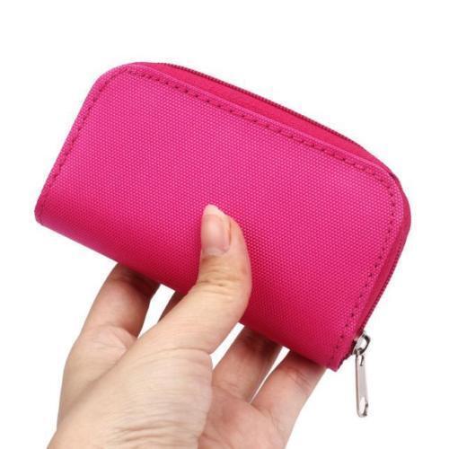 Rosa cartera de tarjeta de memoria 22-Soporte De Almacenamiento Micro Sd Cf Funda Protectora