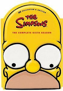 Brand-New-DVD-The-Simpsons-The-Complete-Sixth-Season-collector-039-s-edition-1994