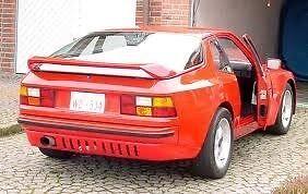 Kofanger, bagkofanger, Porsche 944
