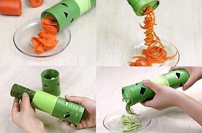 HOT Vegetable Fruit Veggie Twister Cutter Slicer Processing Kitchen Tool UKLO