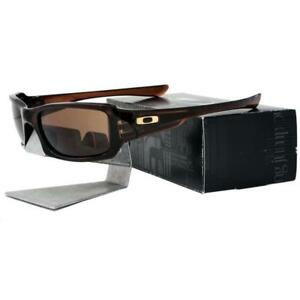 d874e4a18b Oakley OO 9238-07 FIVES SQUARED Polished Rootbeer Dark Bronze Mens ...