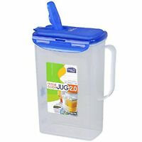 Lock & Lock Water Jug With Flip Top Lid, Polypropylene, Small, 8-1/2-cup, New, F on sale
