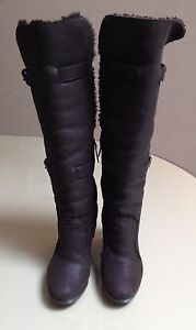 Fendi-Brown-Sherling-Above-Knee-Boots-35-5