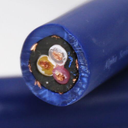OCC Copper HIFI Audio Power Cable Cord EU Schuko plug 0.5m//1m//1.5m//2m//3m