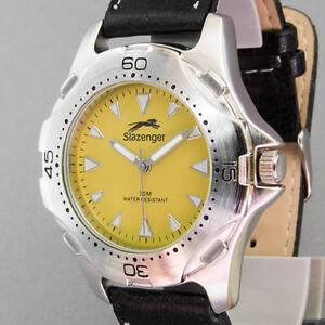Herren-Armbanduhr-Slazenger-Quarz-Neuzustand-ungetragen
