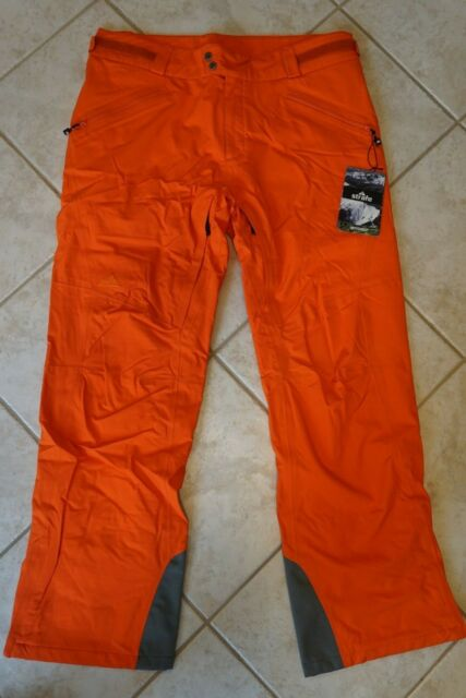 Men/'s 686 Six Eight Six Mannual Data Snow Ski Snowboard pants Yellow Size 2XL