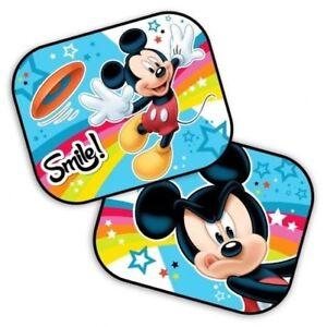 6c1cd9b7a41fc4 2 X Neuf Disney Mickey Vitre Voiture Pare Soleil Bébé Garçon Fille ...