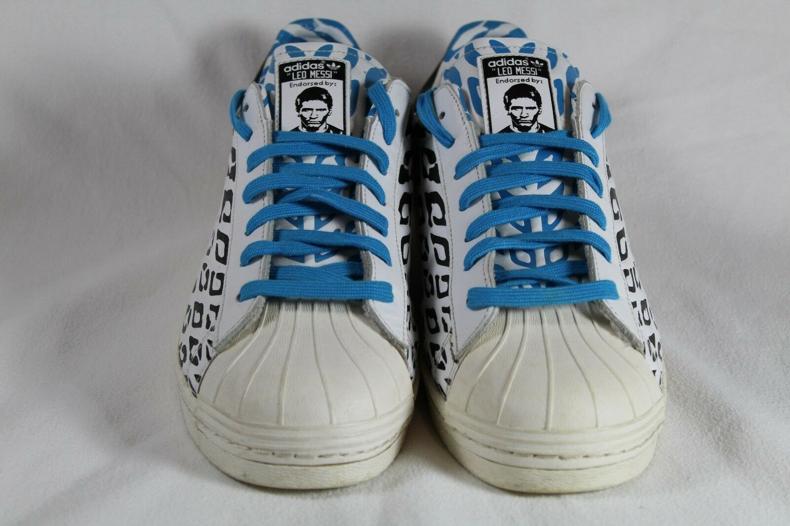 adidas Condition Superstar Messi Size 11.5 Pre-Owned Good Condition adidas M21779 13bc45